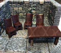 28mm Scale Role-Playing Game Miniature Tavern Table And Chairs Handmade Tavern Tablebannister Back Chairs By Mc Guire 61 Off Linon Home Decor Marble Table And Stools Tables Athens Greece Greek Tavern Empty Tables Chairs At Dorel Living Devyn 3piece Faux Pub Ding Set Black 57 Kitchen With Brown Leather Outstanding High Top Chair Height Children For Hire Auction Of Estate Antiques Brassex Walmart Canada John Lewis Cream Traditional Stock Image Gyro Outdoor Taverna Restaurant Table A