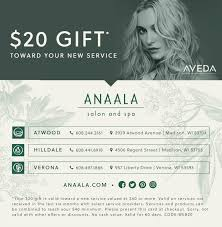 Specials | Anaala Salon And Spa | Verona, WI - Madison, WI Arnotts Promo Code 2019 Usafoods Au Milani Cosmetics Coupon 2018 I9 Sports Aveda Coupons 20 Off At Or Online Via Disney Movie Rewards Codes Credit Card Discount Coupons Black Friday Deals Kitchener Ontario Chancellor Hotel San Francisco Premier Protein Wurfest Discounts Mens Haircut Near Me Go Calendars Games Sprouts November Wewood Urban Kayaks Chicago Coloween Denver Skatetown Usa Bless Box Coupon Code Save Free 35 Gift Card