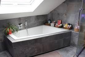 badezimmer im dachgeschoß scandinavian bathroom