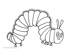 Butterflies Coloring Page Pages Of A Butterfly Hungry Little Caterpillar