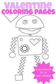3 Valentines Day Coloring Pages