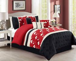 White And Black Bedding by Bedroom Make A Big Difference In Sleep Comfort And Overall