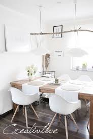 77 Gorgeous Examples Of Scandinavian Interior Design Dining Room Wall Decor Table Rustic Home
