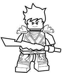 Scarce Coloring Pages Ninjago Monumental Kai Zx Surprising Print
