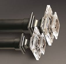 estate crystal square finials