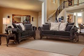 Levon Sofa Charcoal Upholstery by Living Rooms U003e Sofa U0026 Loveseat Sets Furniture Plus Delaware