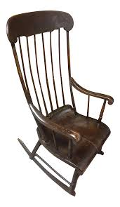 Early 19th Century Vintage Boston Rocker