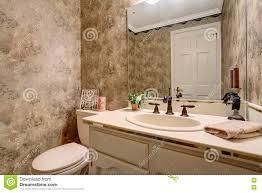 kleines antikes badezimmer mit toilette eitelkeitskabinett