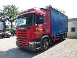 SCANIA R420 MANUAL-RETARDER Trucks Curtainsider For Sale, Tautliner ...