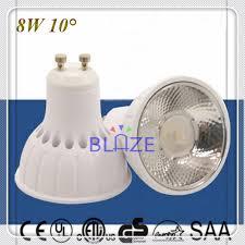sle 10 degree narrow beam angle 8w gu10 led spot lighting bulbs
