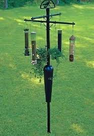 Squirrel Stopper 8 Arm Bird Feeder Pole – The Birdhouse Chick