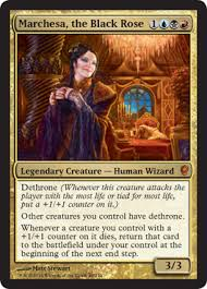 Mtg Commander Decks 2014 by Scd Marchesa The Black Rose Commander Edh The Game Mtg