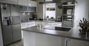 bildergebnis für küche mit side by side kühlschrank küche