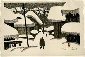 Winter In Aizu 3 By Kiyoshi Saito Japanese Prints Collection