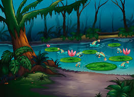Wall Mural Decals Nature by Pond Nature Wall Decal Nature Wall Decal Cartoon Pond Wall