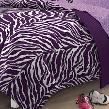 Walmart Bed Sheets by My Room Zebra Complete Bed In A Bag Bedding Set Purple Walmart Com