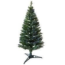 3ft Christmas Tree Asda by 5ft 150cm Beautiful Green Fibre Optic Artificial Indoor Christmas