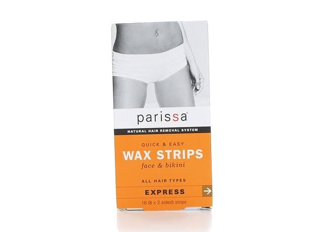 Parissa Quick and Easy Face and Bikini Wax Strips - 16ct