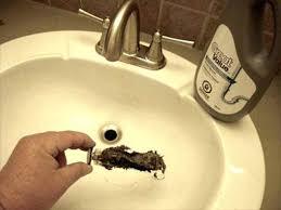 unclog bathroom sink drain video bleach huskytoastmasters info