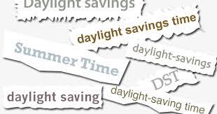 Daylight Savings Time or Daylight Saving Time