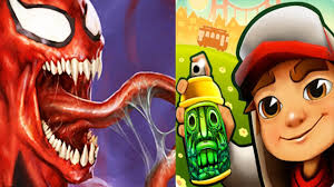 Subway Surfers Halloween by Temple Run 2 Vs Subway Surfers Vs Spider Man Unlimited Best