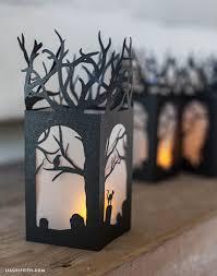 Paper Lantern Halloween Decorations