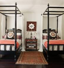 I Have Two Iron Beds To Put In His Room Similar These Black Twin Four Poster