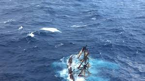 Hms Bounty Sinking 2012 by The Day Close Ties Between New London Coast Guard Hms Bounty