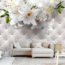 fototapete selbstklebend blumen lilien 392x280 cm tapete wandtapete wandbilder klebefolie dekofolie tapetenfolie wand dekoration wohnzimmer
