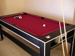 Dining Room Pool Table Combo by Dining Room Beauteous Image Of Rectangular Dark Brown And Green