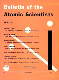Bulletin Atomic Scientist 1947