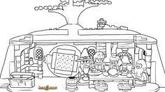 LEGO Hobbit Coloring Page The Unexpected Gathering Printable Color Sheet