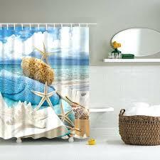 Cheap Beach Themed Bathroom Accessories by Ocean Themed Shower Curtains U2013 Teawing Co