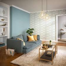 glam wohnzimmer inspiration tapete türkis wohnzimmer