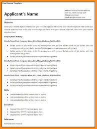 Fillable Resume Templates 9 Sample Blank Agenda Example Template Download