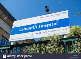 100 Lambeth Hospital NHS Mental Health London SLAM Stock Photo 60032794