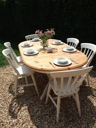 Shabby Chic Dining Room Chair Cushions by Shabby Chic Dining Table And Chairs Awesome White Dark Leather