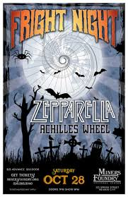 Hangtown Halloween Ball Lineup by Jonny U201cmojo U201d Flores Achilles Wheel Psychedelic Rock Blues