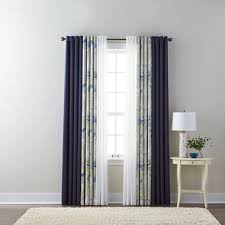 Grommet Top Curtains Jcpenney by Liz Claiborne Kathryn Solid Floral And Jcpenney Home Batiste