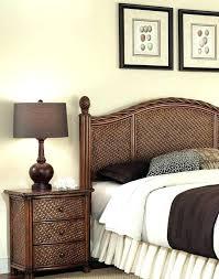 Rattan Bedroom Furniture Full Size Of Black Headboard