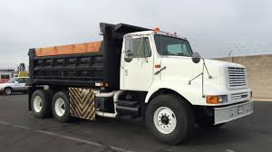 1999 International 2674 12-14 Yard Heavy Spec Dump Truck - YouTube