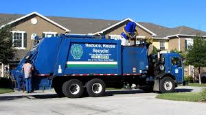 RARE - Ft. Myers Heil MultiPack Recycling Truck (in Action) 11-23-12 ...
