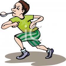 Lemon clipart spoon race 9