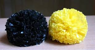 How To Make Floor Rug With Plastic Bag Pompoms
