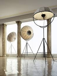 Archie Photographic Tripod Floor Lamp by Fortuny Lamp By Pallucco First Designed In 1903 Mariano