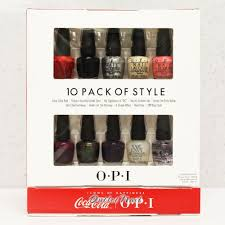 Gelish 18g Led Lamp Canada by Opi Coca Cola Mini 10 Pack Of Style Collection Perfect Ten Set