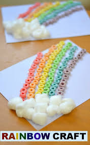 Cereal Rainbow Craft With Fun Crafts For