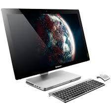 ordinateur de bureau tactile tout en un lenovo ideacentre a520 vez1rfr pc de bureau lenovo sur ldlc com