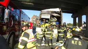 Bus Hits Truck On I-95 In Norwalk, 19 Injured « CBS New York Italian Restaurant Joe Letizia Norwalk Ct Williston Fire Department Home Two Men Charged In April Homicide Connecticut Post Hapa Food Truck Facebook Honors Its Police Officers The Hour Bridgeports New Ladder 10 Youtube State Minor If Any Injuries Crash Men And A Best 2018 News 12 Police Sting Blows Top Off Strip Club