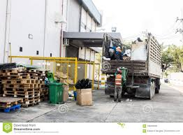 Waste Management, The Garbage Truck With Worker Editorial Image ...